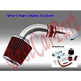 Dodge Dakota / Durango, 3.7l V6 / 4.7l V8 Short Ram Intake, Red (Included Air Filter) for 2003, 2004, 2005, 2005 Models