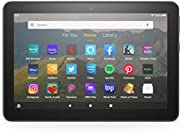 "Fire HD 8 tablet, 8"" HD display, 32 GB, designed for portable entertainment,"