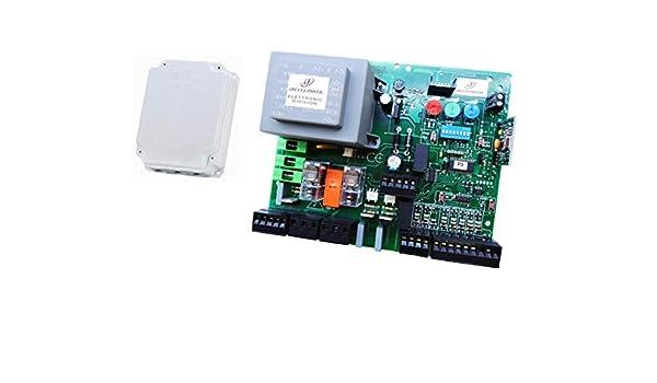 CENTRALINA FAAC 462DF 462 DF 230V CONTROLADOR CENTRAL QUADRO: Amazon.es: Bricolaje y herramientas