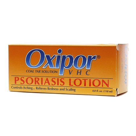 Oxipor VHC Coal Tar Solution, Psoriasis Lotion - 3PC