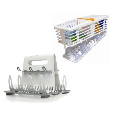 Prince Lionheart Deluxe Drying Station with Deluxe Infant Dishwasher Basket Deluxe Infant Dishwasher Basket