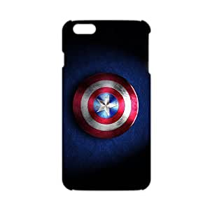 captain america shield Phone case for iPhone 6plus