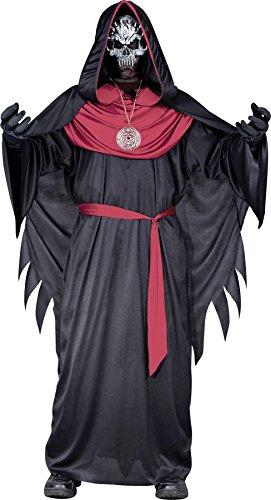 Emperor Of Evil Adult Costumes (Morris Costumes Emperor Of Evil Child Med 8-10)