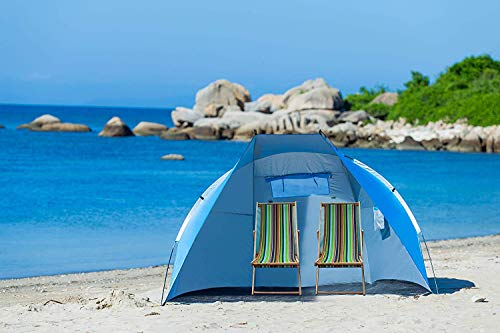Extra Large Beach Cabana Tent Sun Shelter Sunshade Outdoor Portable