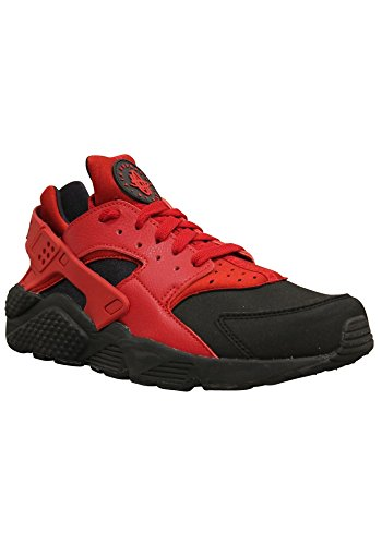 Nike Herren Air Huarache Schwarz / Gym Rot // Gym Rot