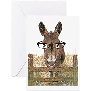 Amazon Cafepress Humorous Smart Ass Donkey Painting