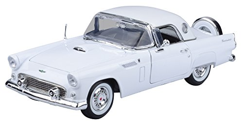 Motormax 1:18 Die-Cast 1956 Ford Thunderbird With Hard Top (Colors May Vary) (Ford Diecast Model Car)