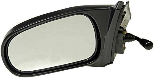 Dorman 955-1391 Driver Side Manual Door Mirror for Select Honda Models, Black