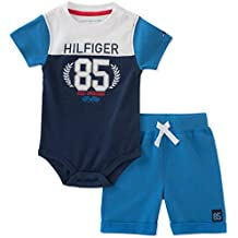 Tommy Hilfiger Baby Boys 2 Pieces Creeper Shorts Set