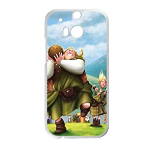 Brave HTC One M8 Cell Phone Case White I3622117