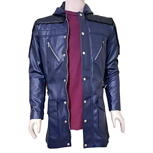 Devil May Cry 5 Nero DMC Faux Leather Jacket (XL) (Leather Devils Mens)