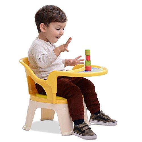 GAOJIAN Ninos Silla Leccion de plastico Aprender Silla de Respaldo Sillas para ninos de jardin de Infancia Lunch Stool
