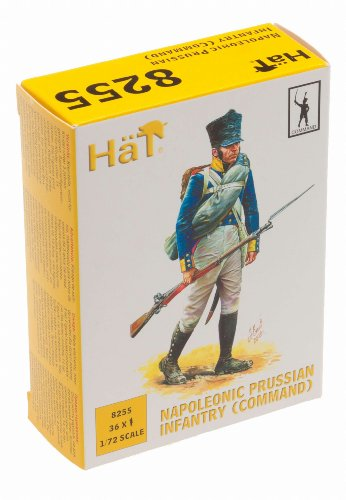 Napoleonic Prussian Infantry Command (36) 1/72 Hat
