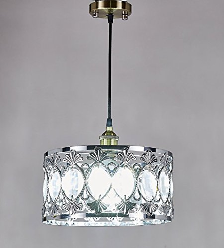 New Legend Chrome Finish Modern Crystal Chandelier Pendant Hanging Lighting Fixture