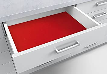 Kühlschrank Matten : Jtdeal [2 stück] schubladeneinlage antirutschmatte schubladenmatte