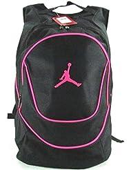 Jordan Nike Air Jumpman Sports Bag Backpack-Black/Pink