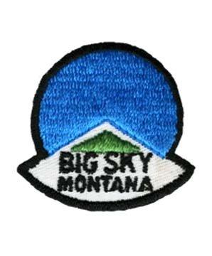 Big Sky Montana Logo 1970's Collector Ski ()