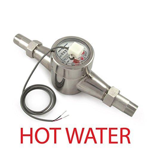 3/4'' Hot Water Meter - Stainless Steel, Pulse Output by EKM Metering Inc.