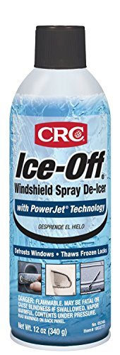 CRC 05346 Ice-Off Windshield Spray De-Icer - 12 Wt Oz.
