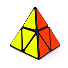 Ting-w Creative Educational Toy Pyraminx Triangle Cone Shaped Magic Cube Puzzle Speed Cubing 2X2 1.9x1.9x1.9cm