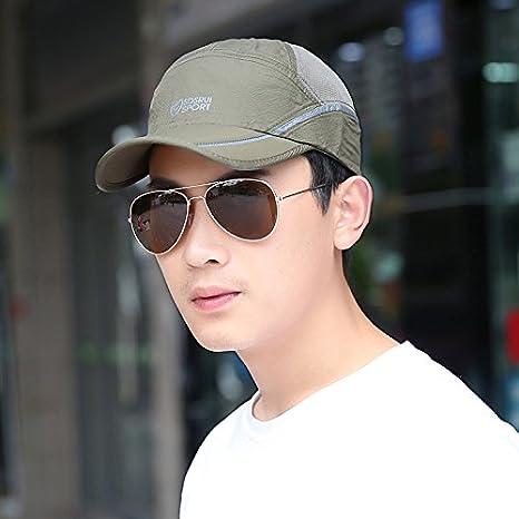Cappello estivo berretti da baseball da uomo cappelli Sun cappelli coreano  moda berretto Outdoor cappello di 39863dedc326
