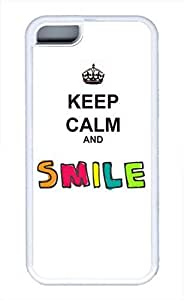 CSKFUKeep Calm And Eat Delicious Cookie Cute Hard Case Cover for iphone 6 4.7 inch iphone 6 4.7 inch PC Ttransparent