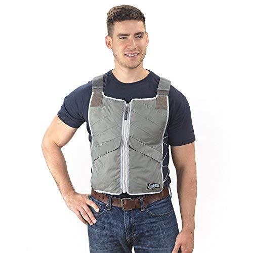 FlexiFreeze Professional Series Ice Vest - Charcoal by FlexiFreeze