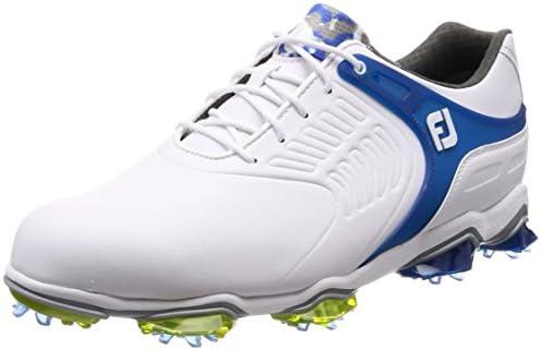 ゴルフシューズ Tour S メンズ ホワイト/ブルー(18) 27.5 cm ワイド 55308J 27.5cm 3E