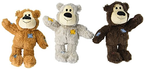 KONG Medium/Large Wild Knot Bear (Pack of 3)