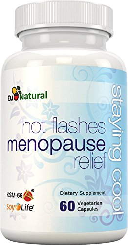 Staying Cool for Hot Flashes & Menopause - Fight Night Sweats, Mood Swings, Weight Gain, Sleep, and Dryness - Vitex & Black Cohosh - 60 Vegetarian Soft Capsules