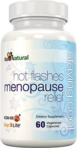 Mantenerse fresco para alivio de la menopausia sofocos, 60 vegetariana cápsulas (fórmula de fuerza Extra para sudores nocturnos, cambios de humor, aumento de peso, sueño y sequedad)