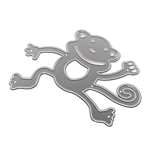 WinnerEco Monkey Metal Cutting Dies Stencil Metal Mould for DIY Scrapbook Album Paper Card