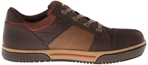 Keen Utility Mens Destin Low Steel Toe Work Shoe Cascade Brown/Bombay Brown