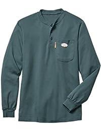 RASCO Men's Camo Fr Henley T-Shirt - Cmf458