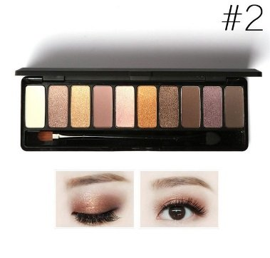 Eye Shadow Makeup Shimmer Matte Eyeshadow Earth Color Eyeshadow Palette Cosmetic Makeup Nude Eyes Make Up