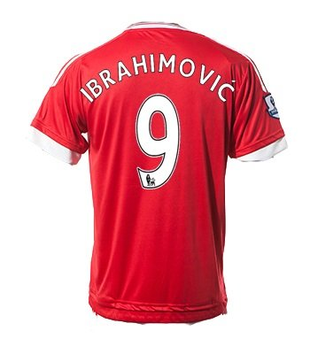 #9 Zlatan Ibrahimovi? Manchester United FC Home Soccer Jersey + get Mr. Sport box as a GIFT