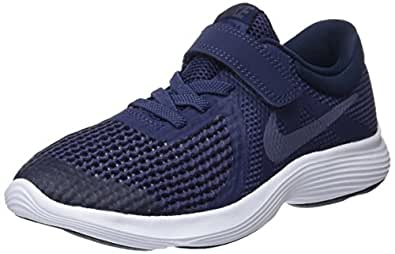 Nike Australia Revolution 4 (PS) Boys Running Shoes, Neutral Indigo/Light Carbon-Obsidian, 1.5 US