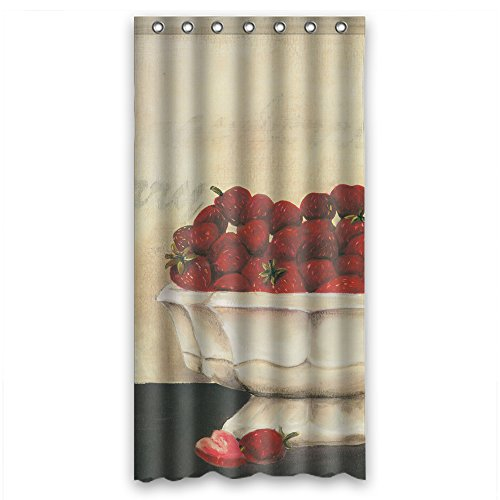 NASAZONE Width X Height / 36 X 72 Inches / W H 90 By 180 Cm Polyester European And American Style Western And Occident Style Art Painting Bath Curtains Fabric Is Fit For Gf Kids Boys Gf (Necklace Jasper Fabric)