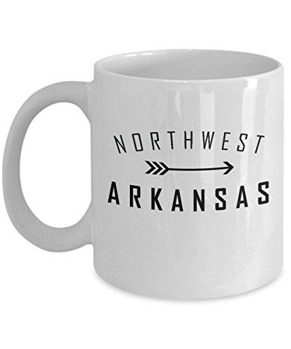 NW Arkansas Coffee Mug - Arkansas Mug - Northwest - Fair Bellis Washington