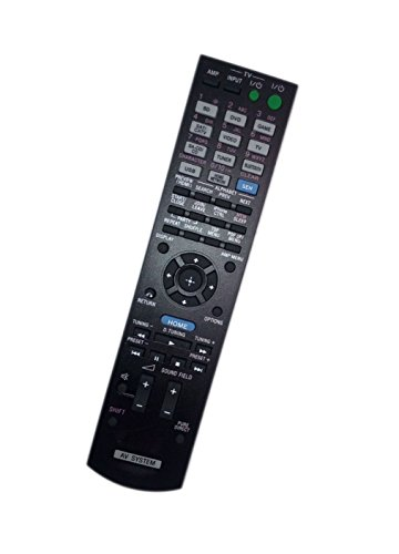 Replaced Remote Control Compatible for Sony STR-DN840 RMAAU170 149205111 STR-DH740 RMAAU168 149204911 Audio / Video AV Receiver Home Theater System