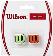 Wilson WRZ538700 Pro Feel 2-Pack Dampeners Green, Orange