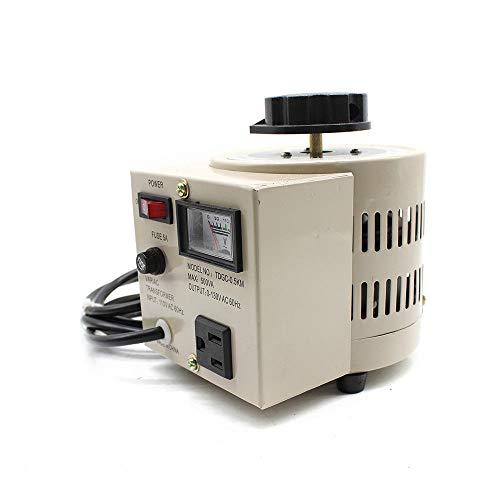 500W 0-130V AC Voltage Regulator Lab Variac Transformer Variable Meter 5 Amp
