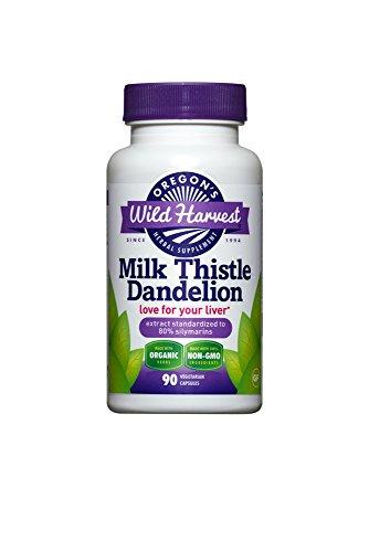 3 PACK: Organic Milk Thistle Dandelion 90 caps by  (Image #1)