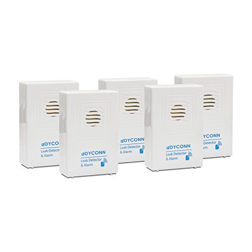 Dyconn Faucet LKDET-5PK Water Detector Alarm Basement