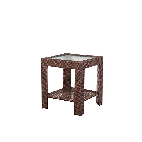 Hampton Bay 65-9102337 Beverly Patio Accent Table For Sale