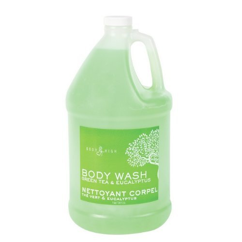 Marianna 56289 Body High Green Tea & Eucalyptus Body Wash, 1