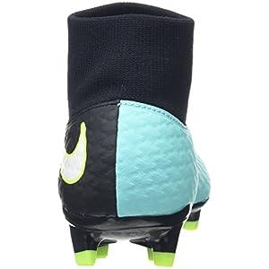 Nike New Women's Hypervenom Phelon III Dynamic Fit FG Soccer Cleat Aqua/Black 7.5