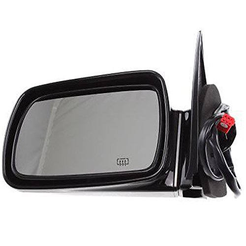 93-95 Grand Cherokee Limited Power Heated Black Non-Fold Mirror Left Driver (1993 Jeep Grand Cherokee Limited)