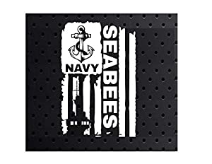 "Edwin Group of Companies Seabees Car Decal | Size - 3"" ? 4.6"" Laptop Motorcycle Helmet Poster Banner 
