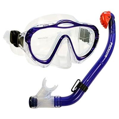 Promate Junior Snorkeling Scuba Diving Mask DRY Snorkel Set for Kids/ SCS0032
